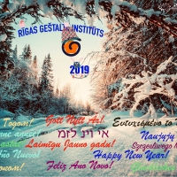 Dear friends, colleagues! Let your next year be interesting, energetic, I wish you to meet   wise, talented people! Let your life and work be filled with love and inspiration!<br /> Happy New Year 2019!